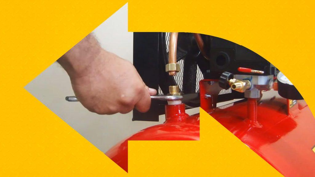 Troca de válvulas de compressores