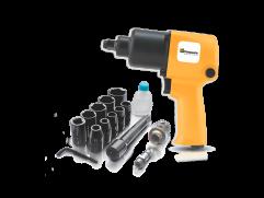 Kit com chave de impacto da Pressure