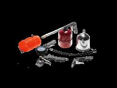 Kit com pistola de pintura Pressure