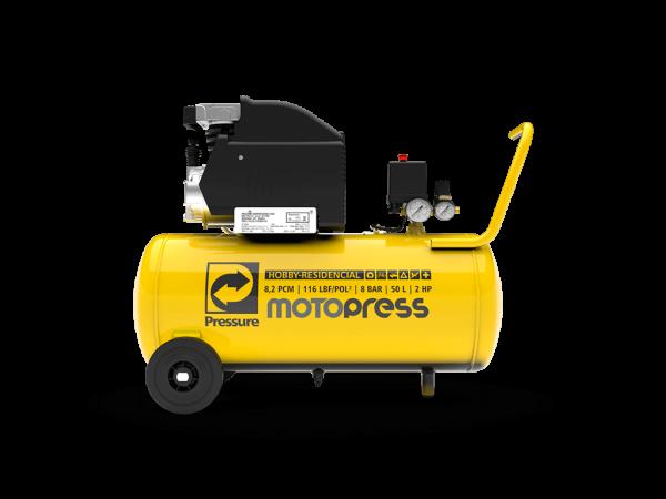 Motopress 50L - motocompressor Pressure