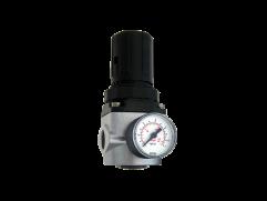 Regulador de pressão mini com manômetro