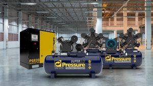 Dia das Indústrias: conheça todos os compressores industriais da Pressure!